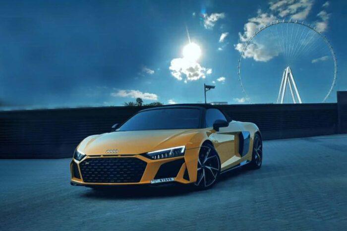 Audi R8 – Yellow