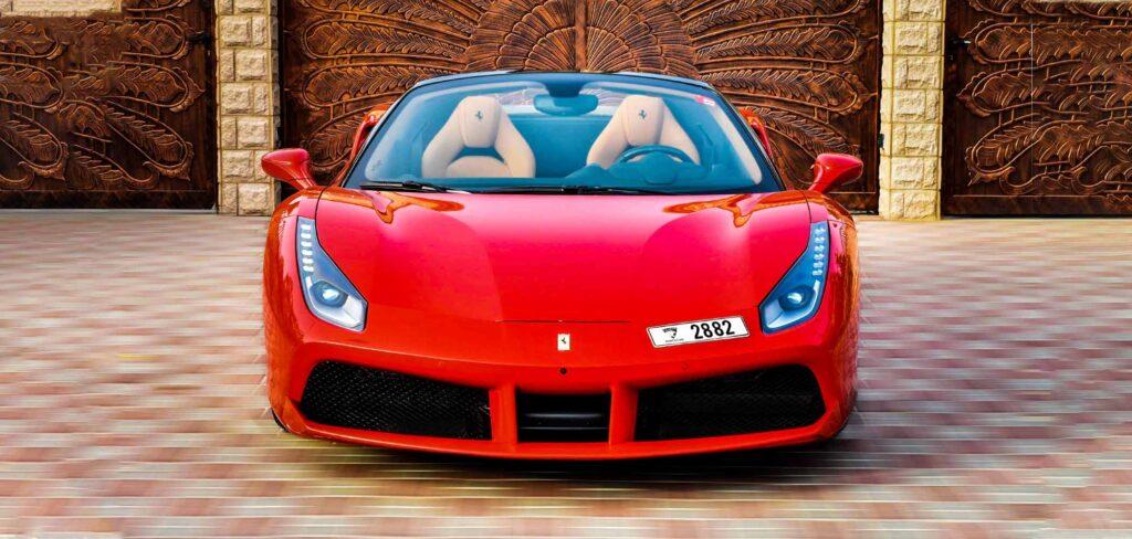 Ferrari 488 For Rent In Dubai