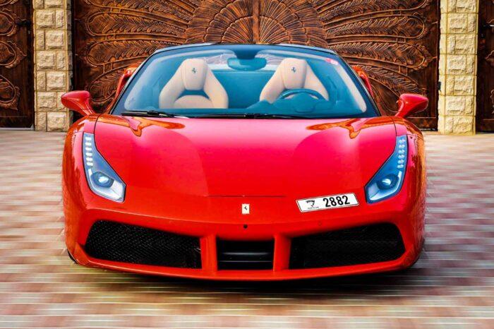 Ferrari 488 Spider Convertible – Red