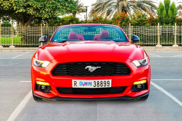 Ford Mustang – Red