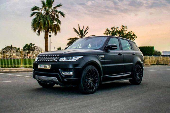Range Rover Sport – Black