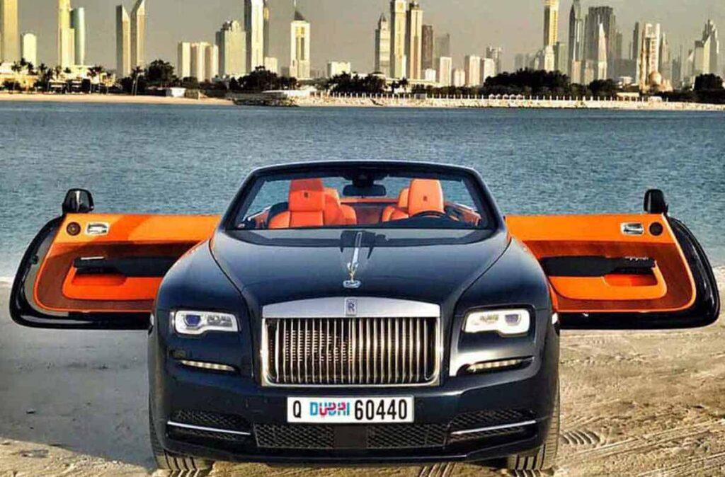Rolls Royce Dawn For Rent In Dubai