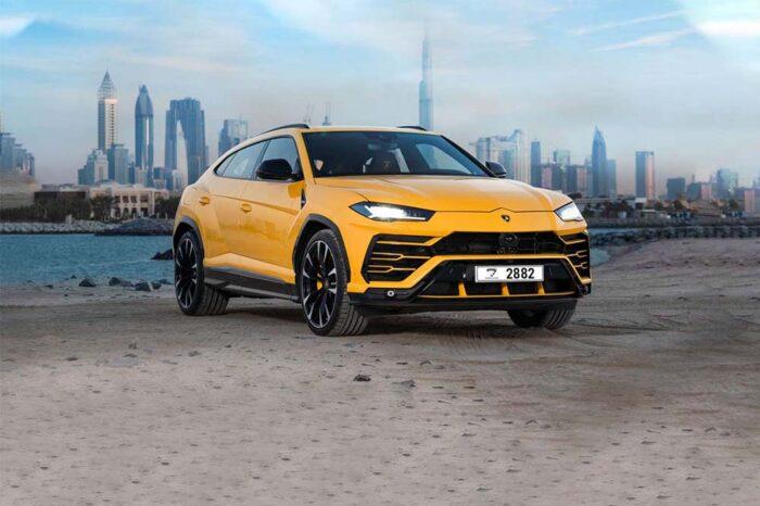 Lamborghini Urus – Yellow
