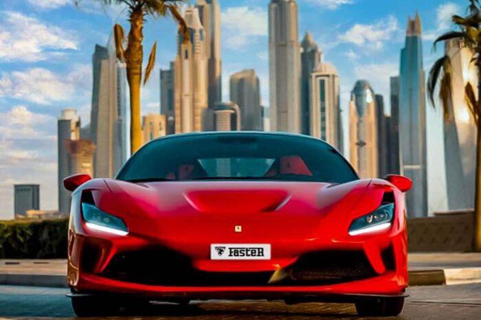 Ferrari F8 – Red