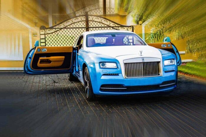 Rolls Royce Wraith – Blue