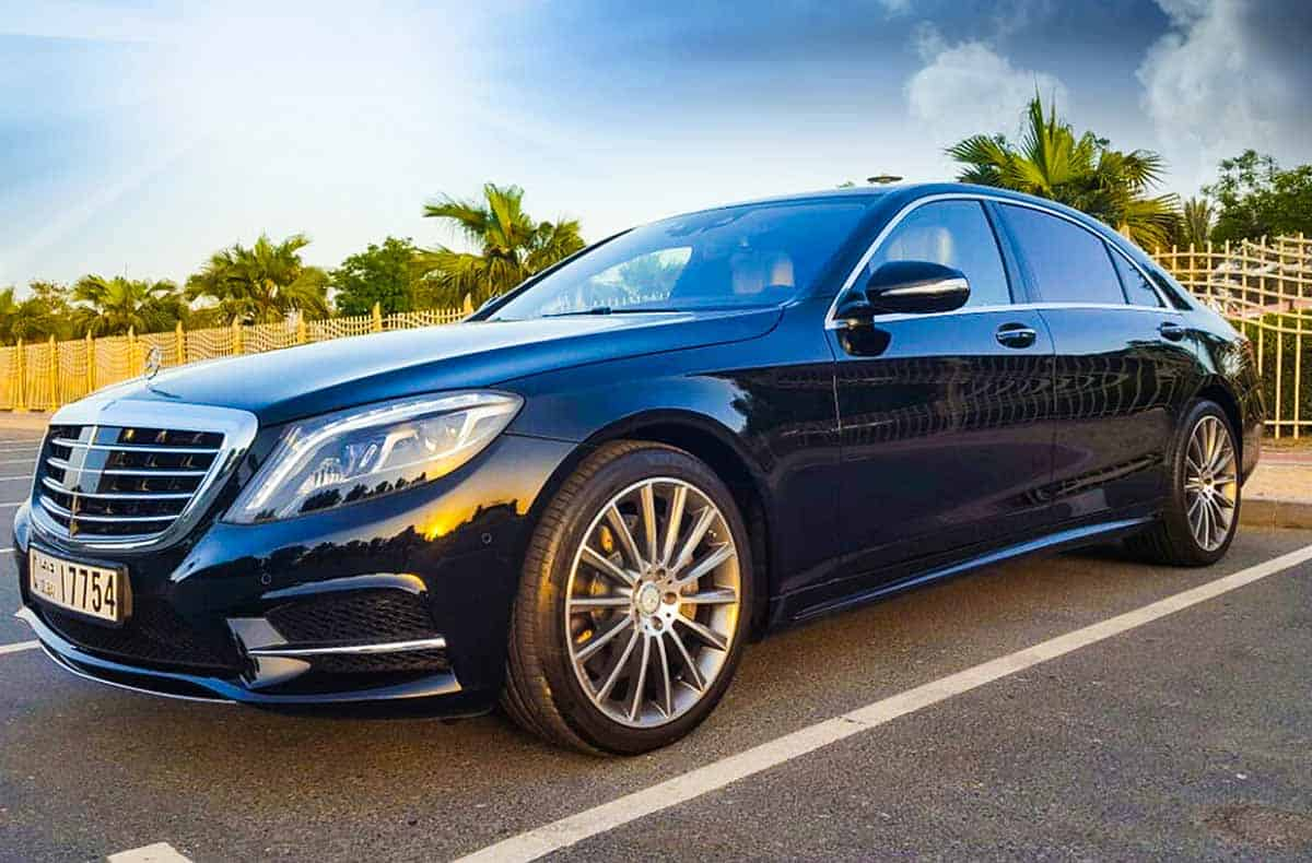 Mercedes S500 For Rent