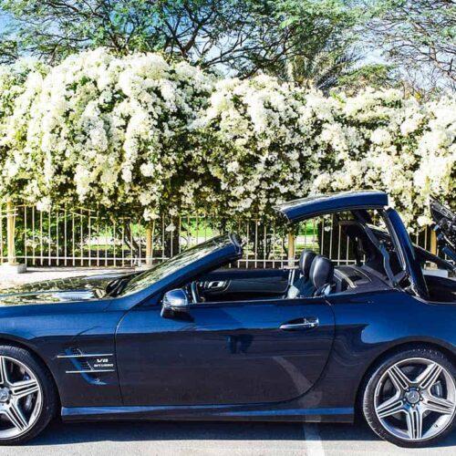 Mercedes SL63 AMG For Rental