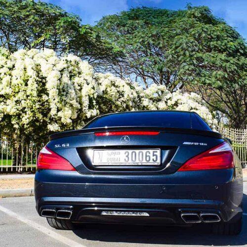 Mercedes SL63 AMG Rental In Dubai
