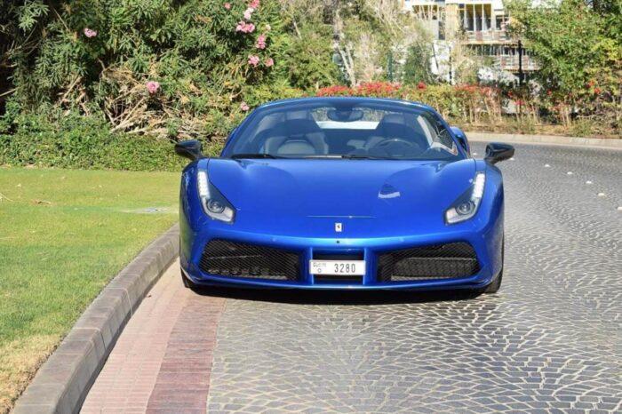 Ferrari Spider – Blue