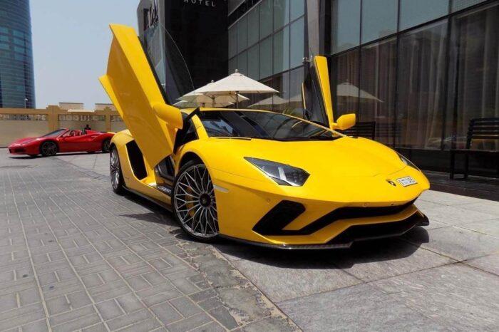 Lamborghini Aventador S – Yellow