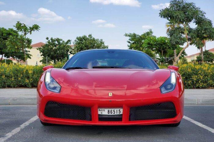 Ferrari 488 GTB – Red