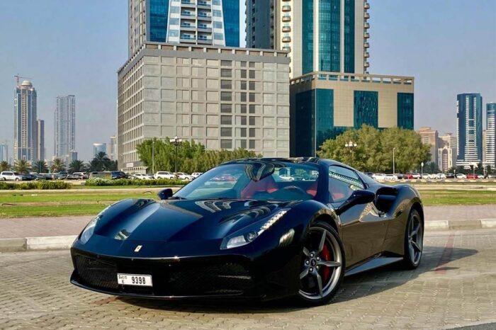 Ferrari 488 Spider – Black
