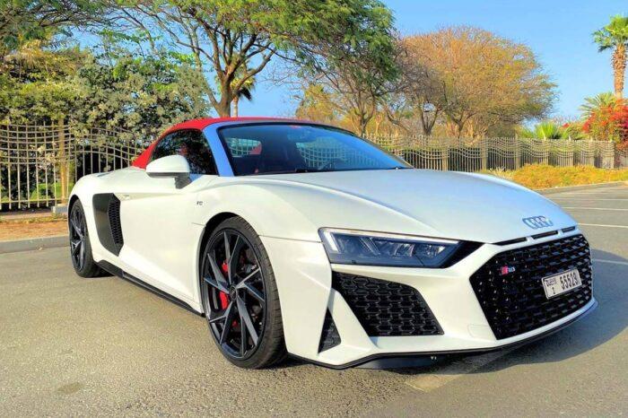 Audi R8 – White