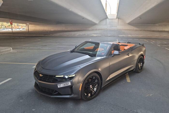 Camaro EVO Dynamic Gray