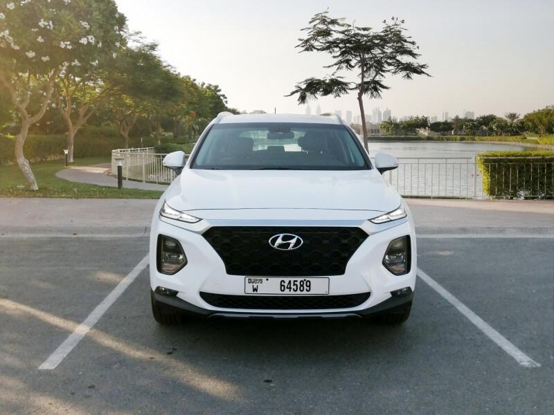 Hyundai Santa Fe For Rent