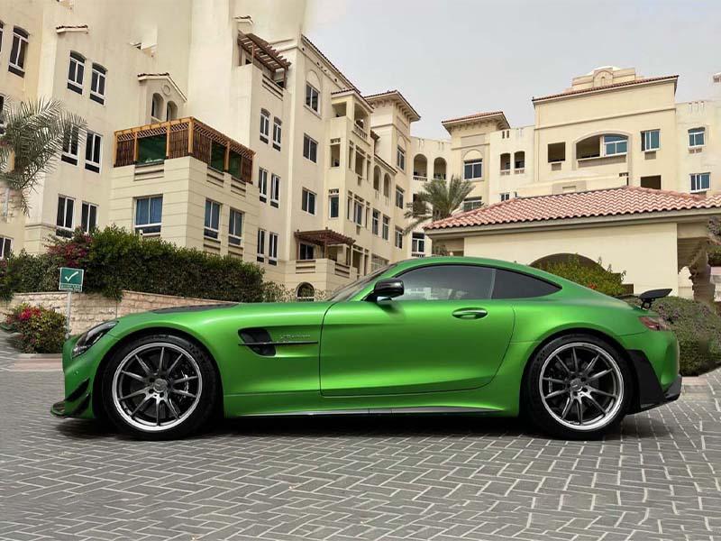 Mercedes AMG GT S Rental in Dubai